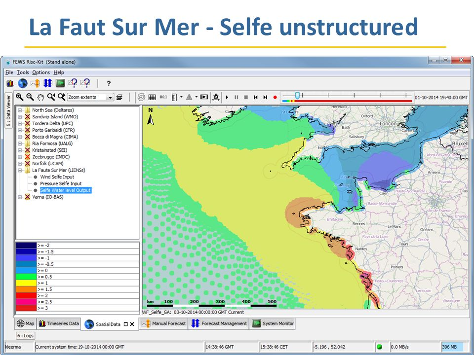 La Faut Sur Mer - Selfe unstructured Progress Meeting, Bologna, 5 November 2014
