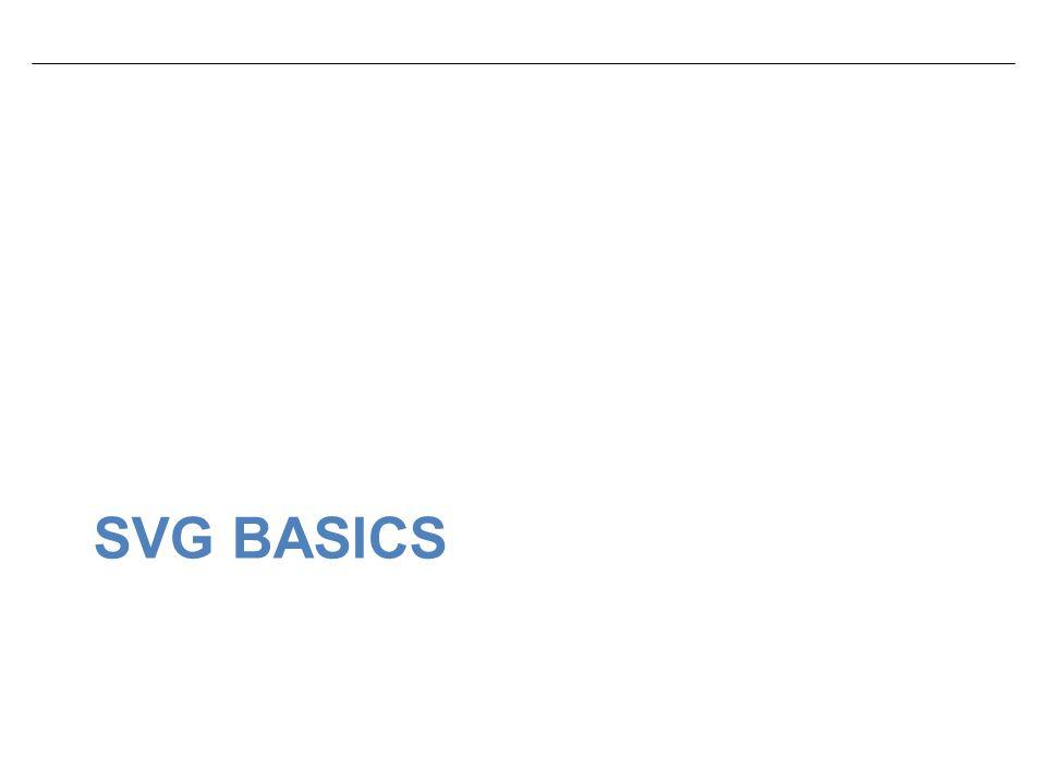 SVG BASICS