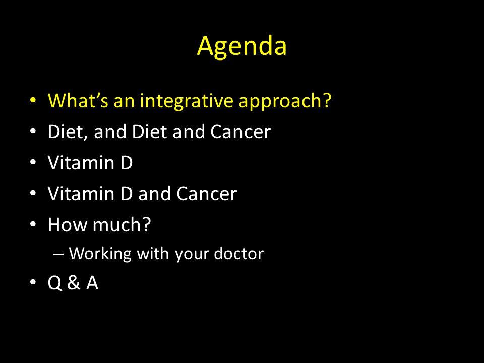 Integrative Medicine Best of conventional and evidence based alternative