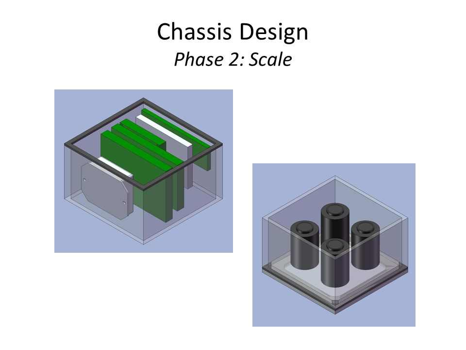 Chassis Design Phase 2: Scale