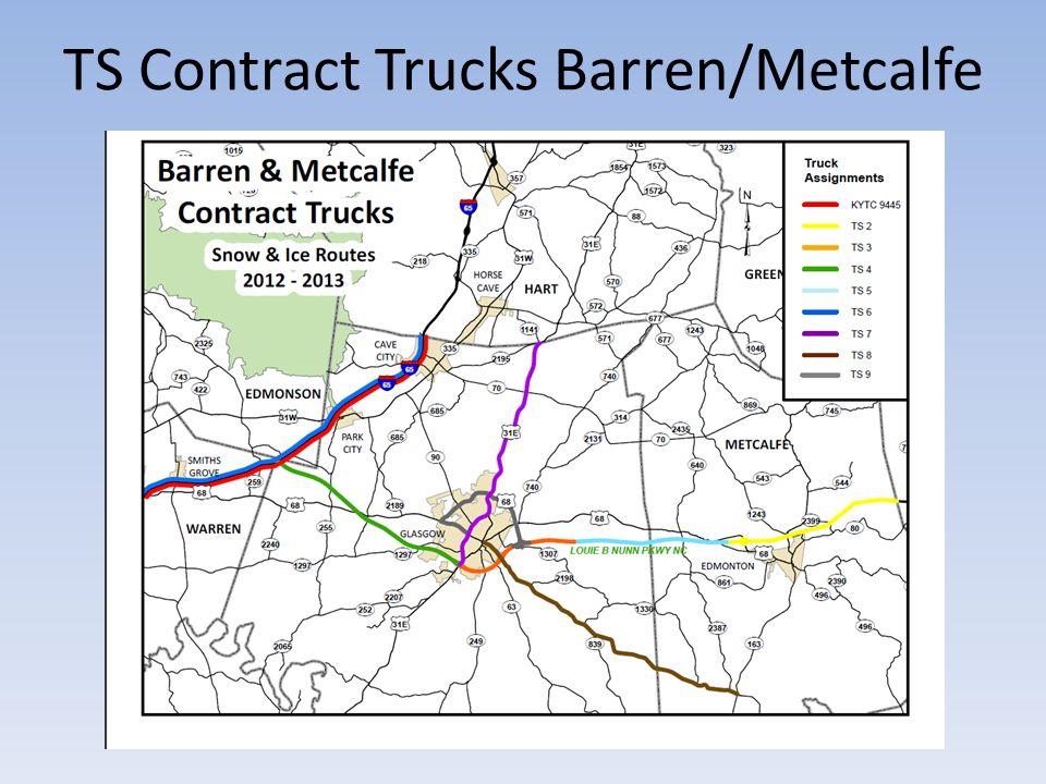 TS Contract Trucks Barren/Metcalfe