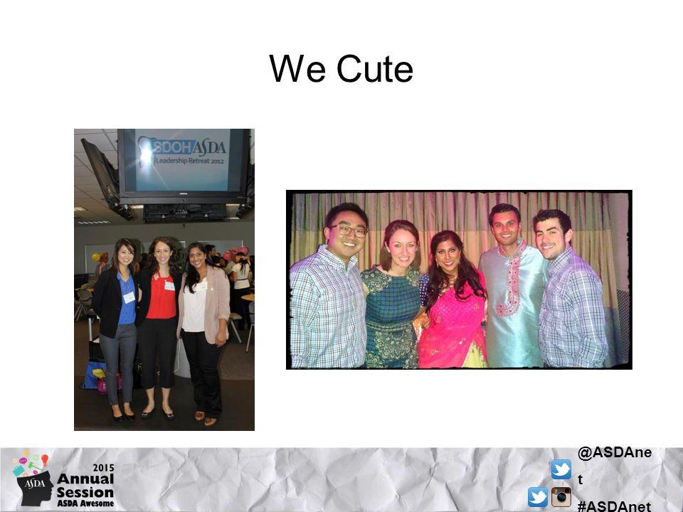 @ASDAne t #ASDAnet We Cute