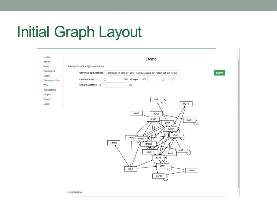 Initial Graph Layout