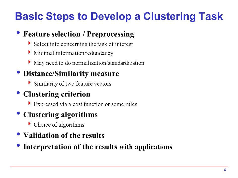 A Disk Version of k-means  k-means can be implemented with data on disk  In each iteration, it scans the database once  The centroids are computed incrementally  It can be used to cluster large datasets that do not fit in main memory  We need to control the number of iterations  In practice, a limited is set (< 50)  There are better algorithms that scale up for large data sets, e.g., BIRCH 15