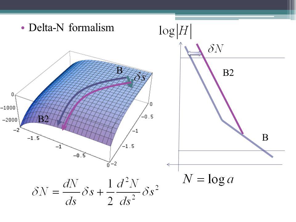 Delta-N formalism B B2 B