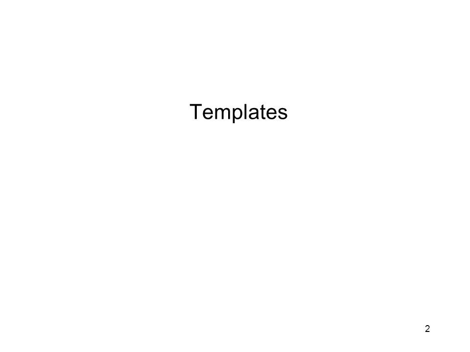Use of template function Can any user defined type be used with a template function.