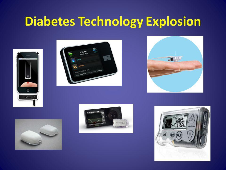 Diabetes Technology Explosion