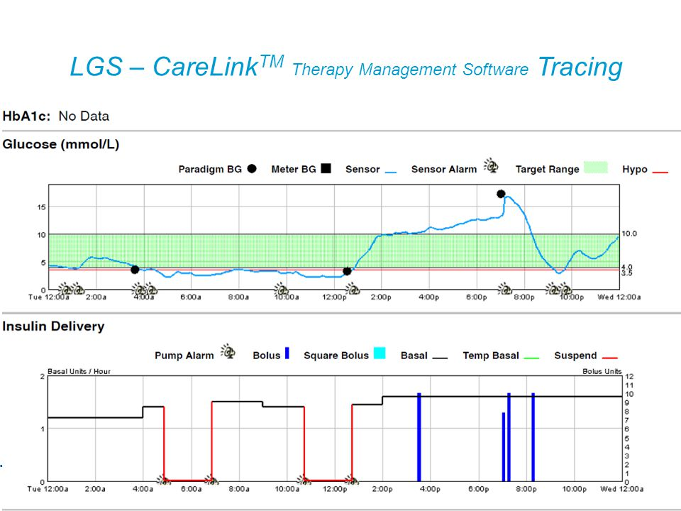 LGS – CareLink TM Therapy Management Software Tracing