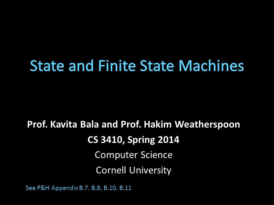 Prof. Kavita Bala and Prof.