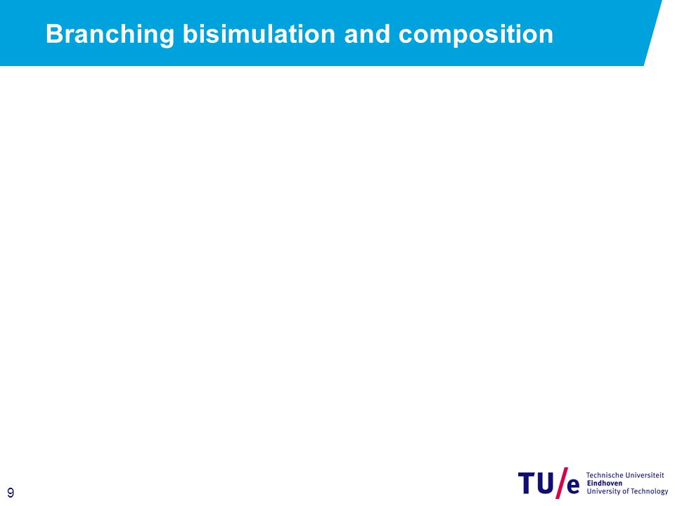 9 Branching bisimulation and composition