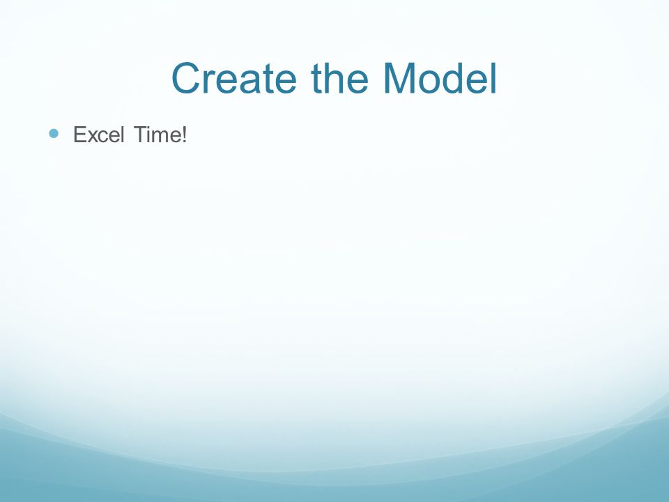 Think, Pair, Share: Create the Model 1. Download the cancer data set from the Schedule webpage.