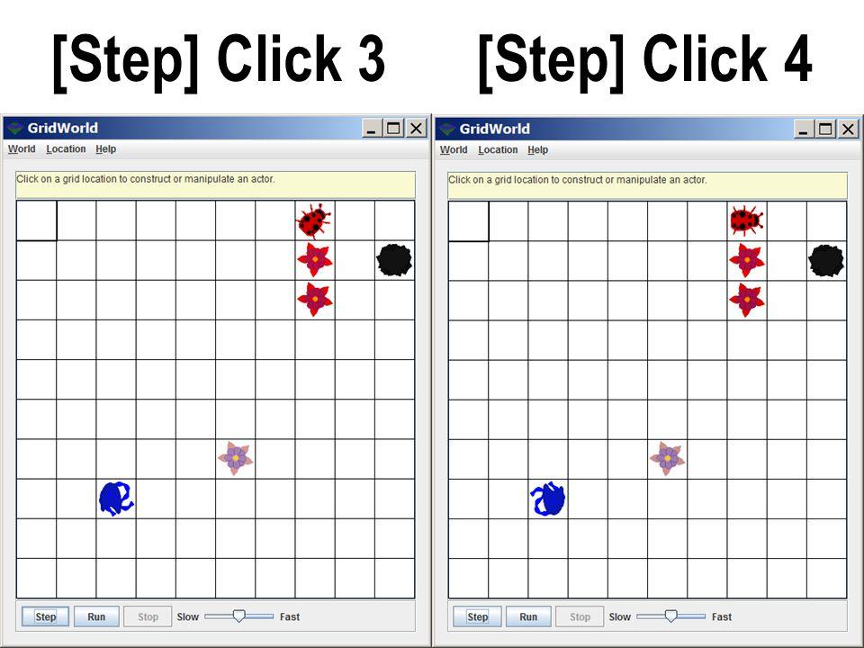 [Step] Click 3 [Step] Click 4
