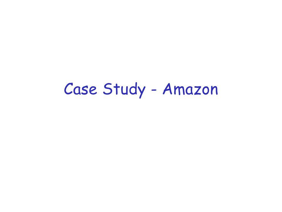Case Study - Amazon