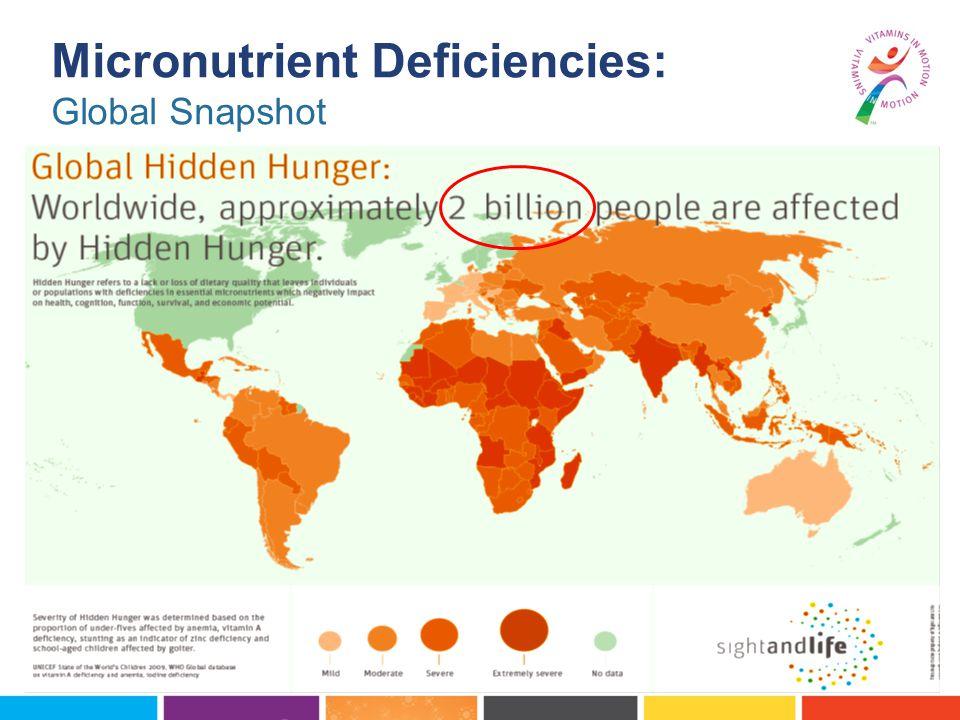 Micronutrient Deficiencies: Global Snapshot