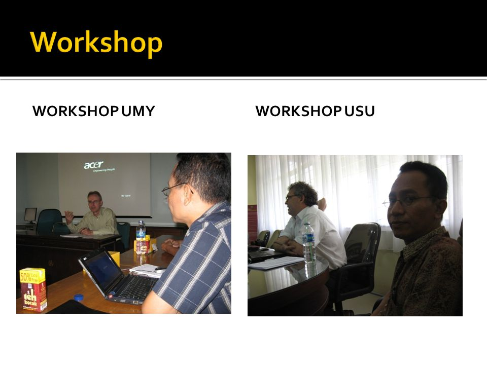 WORKSHOP UMYWORKSHOP USU