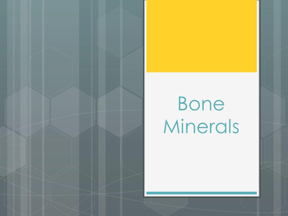 Bone Minerals