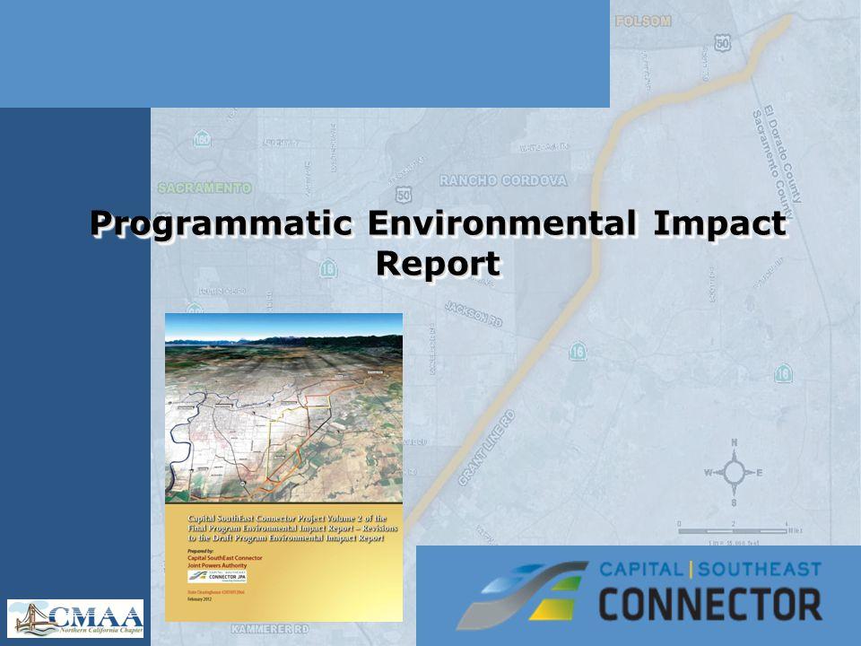 Programmatic Environmental Impact Report