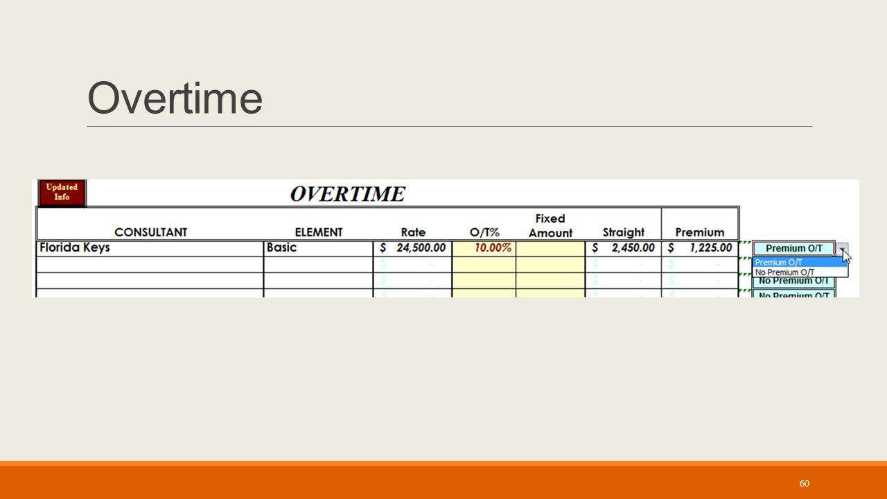 Overtime 60
