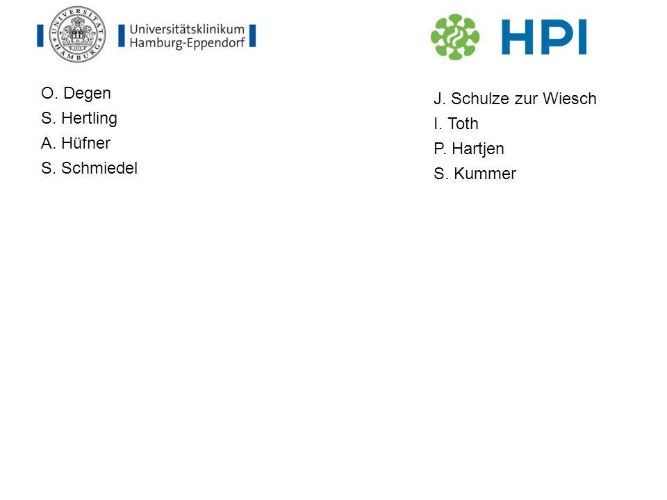 O. Degen S. Hertling A. Hüfner S. Schmiedel J. Schulze zur Wiesch I. Toth P. Hartjen S. Kummer