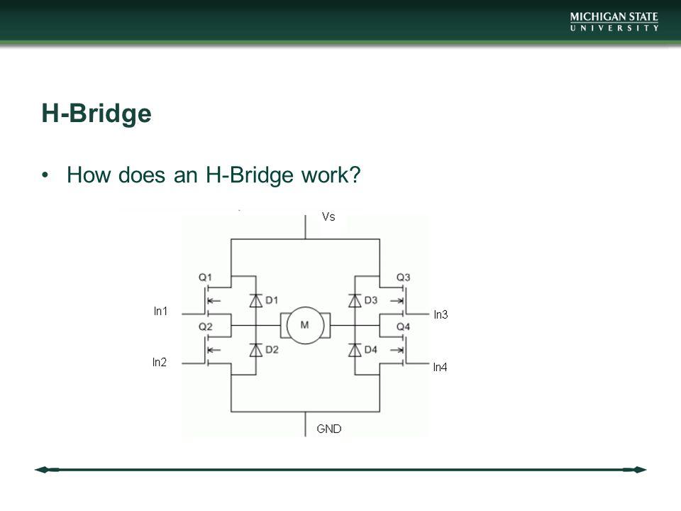 H-Bridge How does an H-Bridge work?