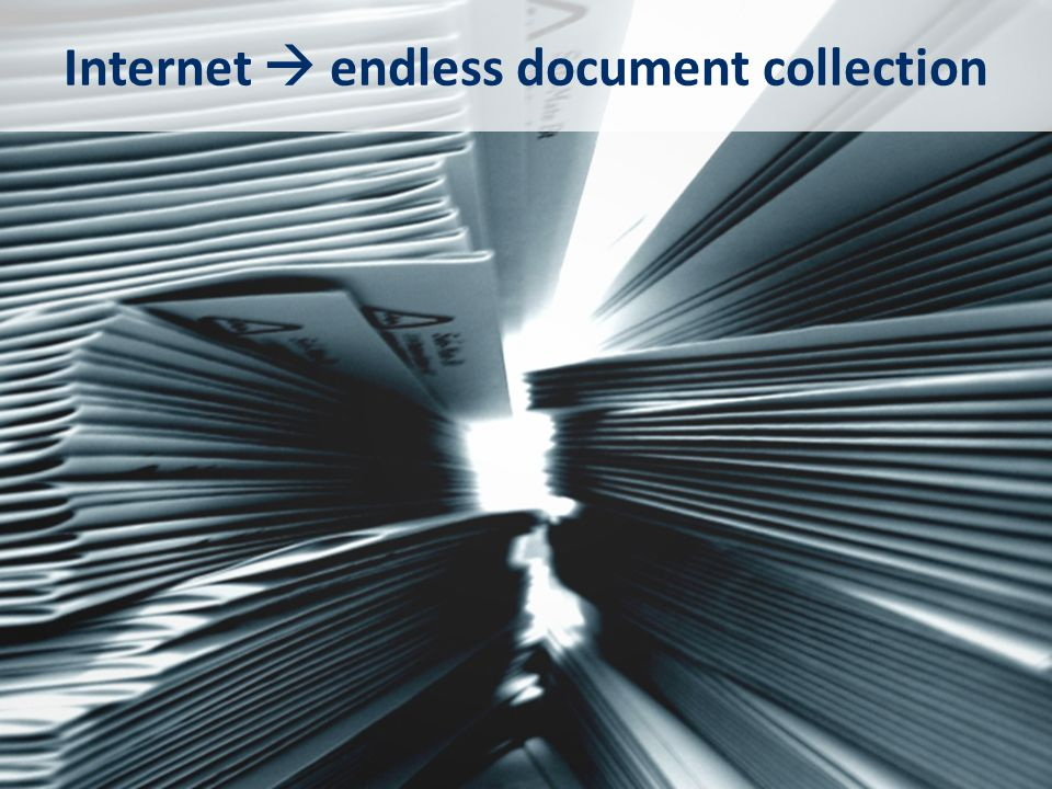Internet  endless document collection