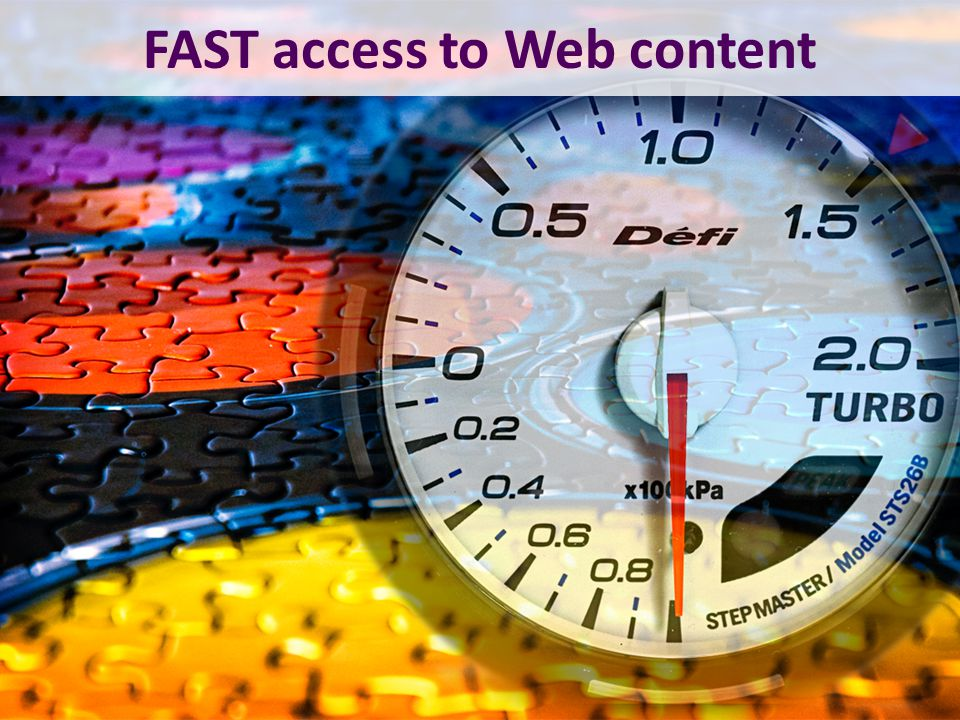 FAST access to Web content