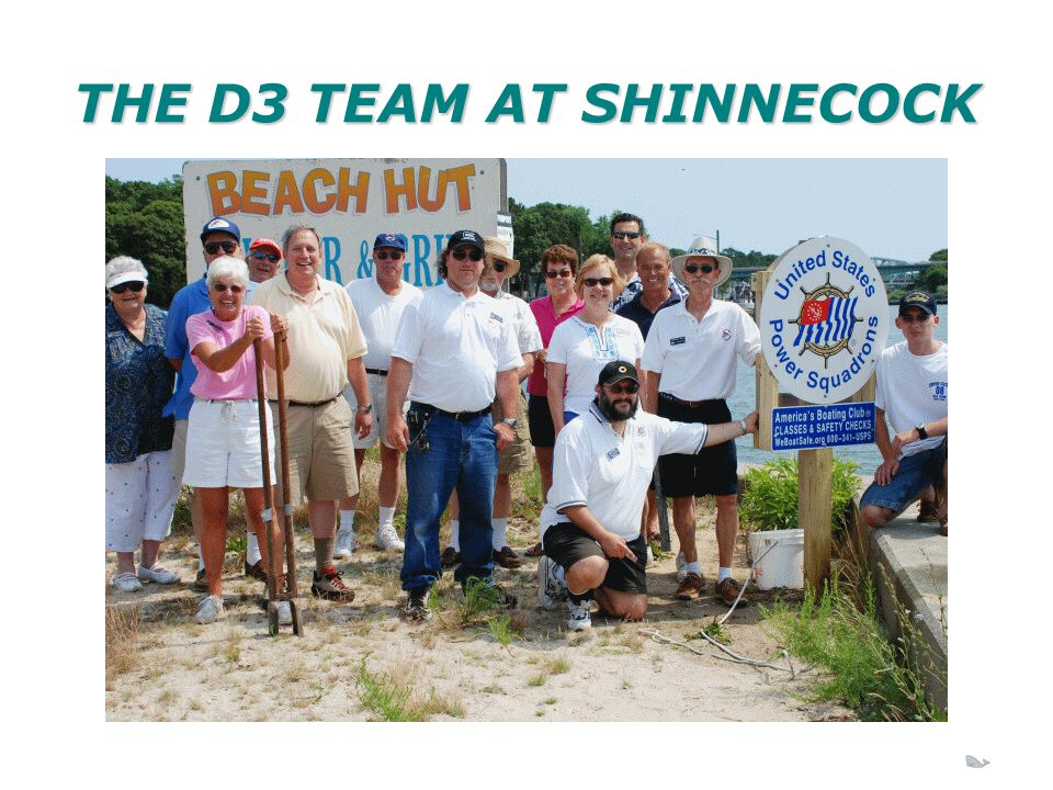 THE D3 TEAM AT SHINNECOCK