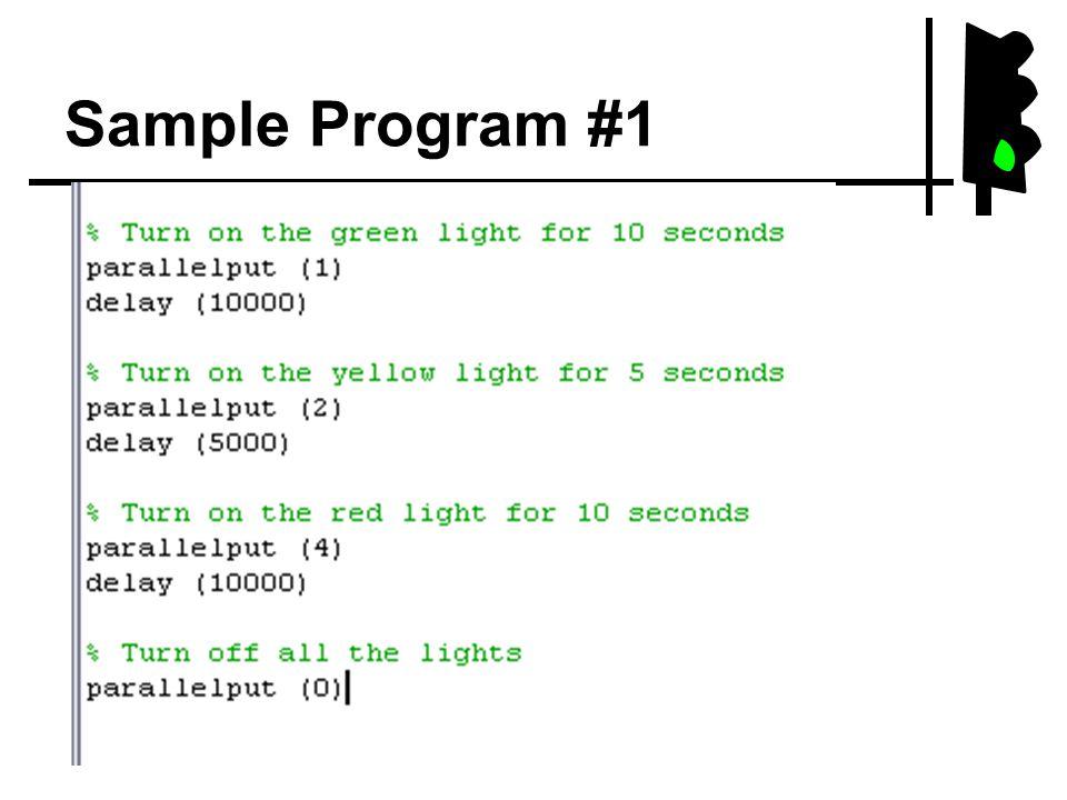 Sample Program #1