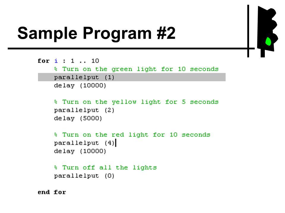 Sample Program #2