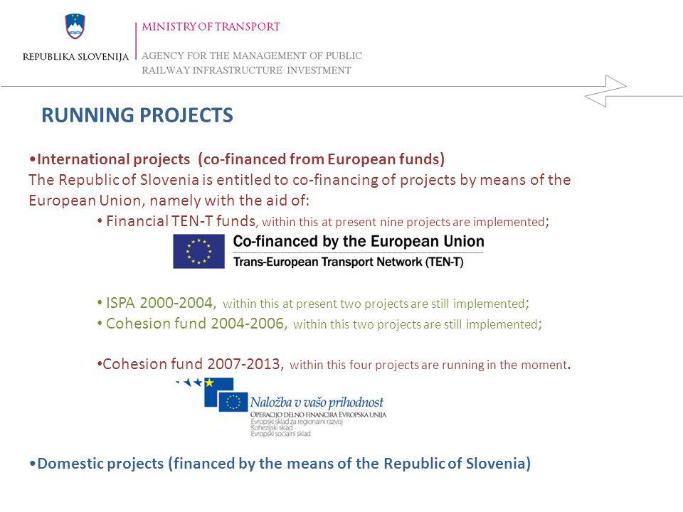 REPUBLIKA SLOVENIJA MINISTRSTVO ZA PROMET DIREKCIJA REPUBLIKE SLOVENIJE ZA VODENJE INVESTICIJ V JAVNO ŽELEZNIŠKO INFRASTRUKTURO 6 14.4.2015 TEN-T PROJECTS Technical studies for the construction of the second track of the railway line Divača- Koper; Plan for obtaining the building permit for the reconstruction and electrification of the existing railway line Pragersko – Hodoš; Preparing of legal expertise and the feasibility study for the development of the railway infrastructure on the area of the Ljubljana junction; Main solution of the airport Ljubljana including the railway line connection with Ljubljana and Kranj (new railway line connection Ljubljana-Jesenice); Implementation of system GSM-R on Slovenian railway network; Cross-border railway line Trieste-Divača: Study and the plan of the cross-border railway line Trieste-Divača-Ljubljana-Budapest-border with Ukraine; Implementation of ERTMS system on the Vth railway corridor (Valencia-Budapest); Preparing of the preliminary study for the construction of the new high capacity line / high speed line Divača-Ljubljana; Preparing of the preliminary study for the construction of the new high capacity line / high speed line Ljubljana - Zidni Most.