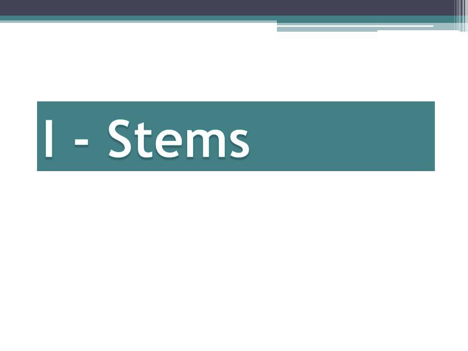 -cir verbs Verbs that end in –cir are J-stems also.
