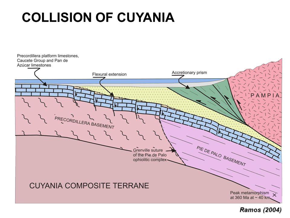 COLLISION OF CUYANIA Ramos (2004)