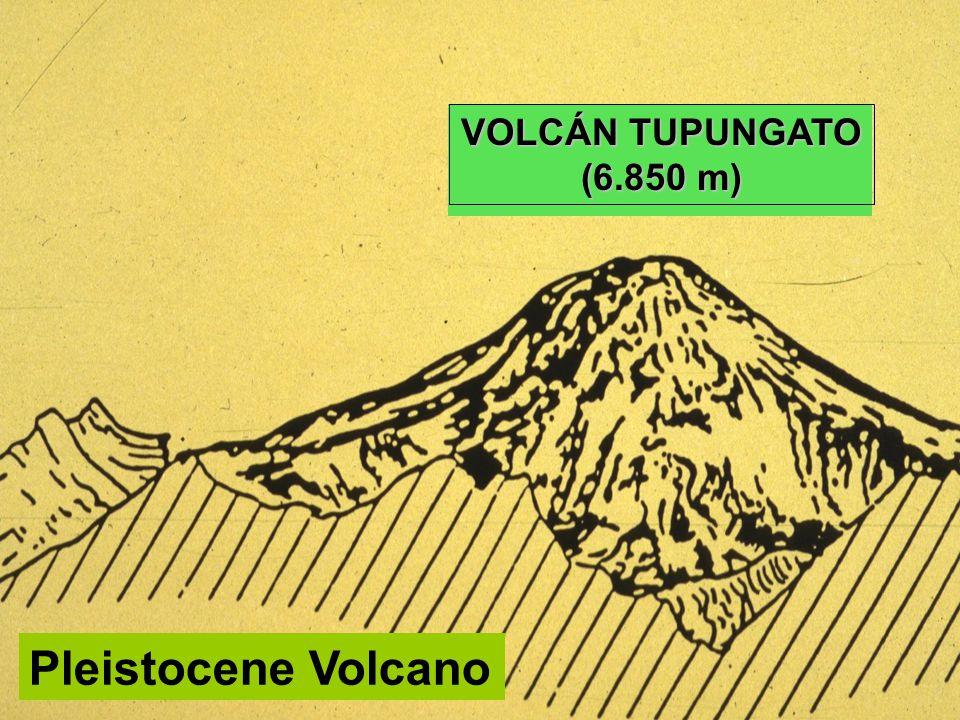 Pleistocene Volcano VOLCÁN TUPUNGATO (6.850 m)
