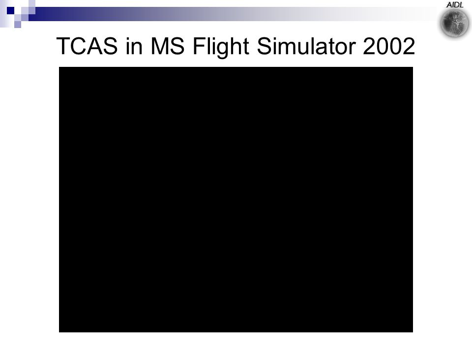 TCAS in MS Flight Simulator 2002