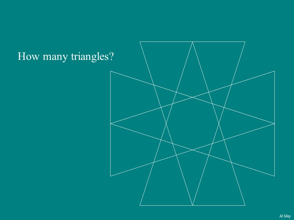 M May How many triangles?