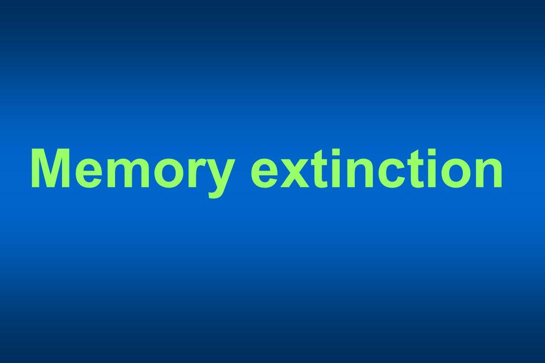 Memory extinction