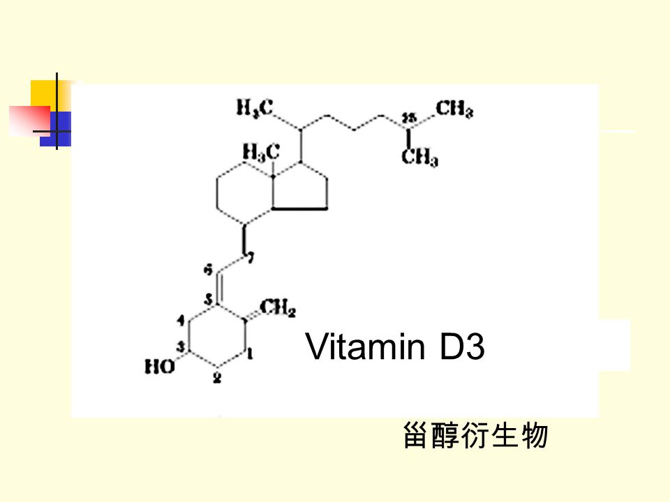Vitamin D3 甾醇衍生物