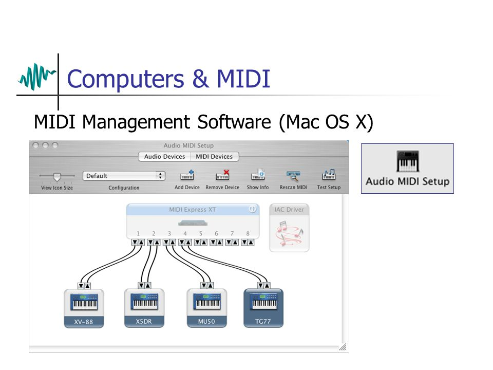 Computers & MIDI MIDI Management Software (Mac OS X)