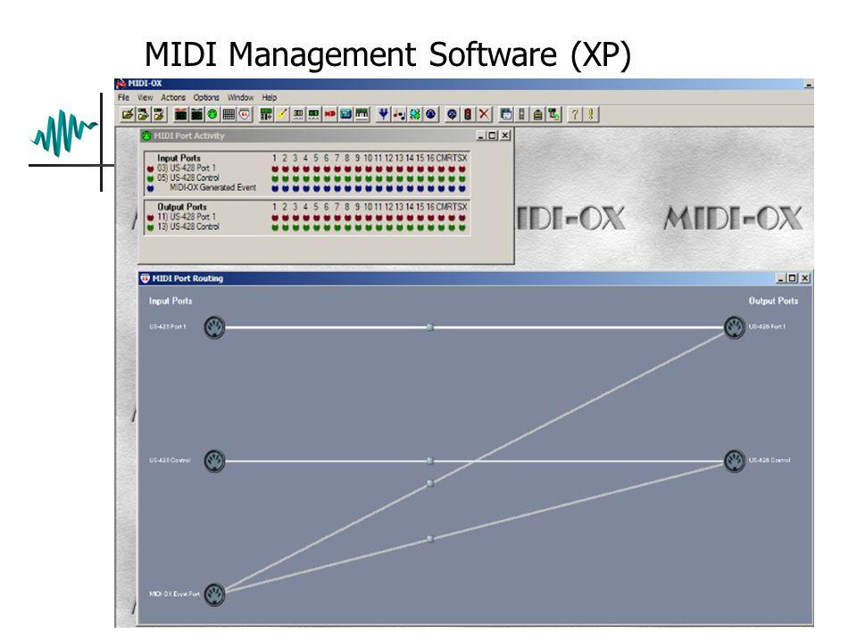 MIDI Management Software (XP)