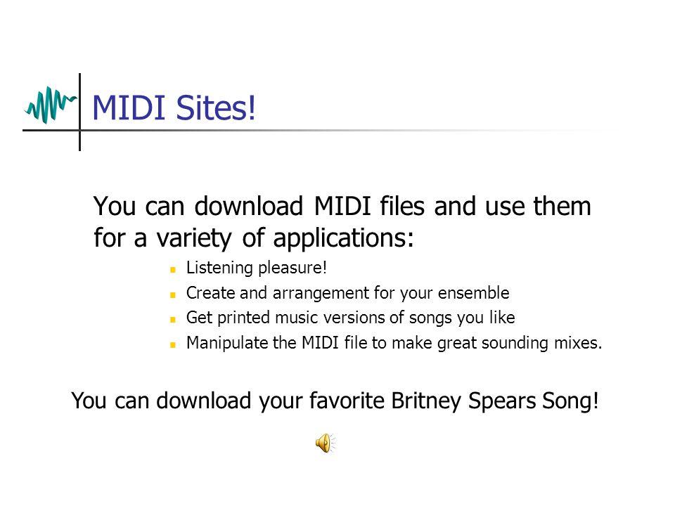 MIDI Sites.