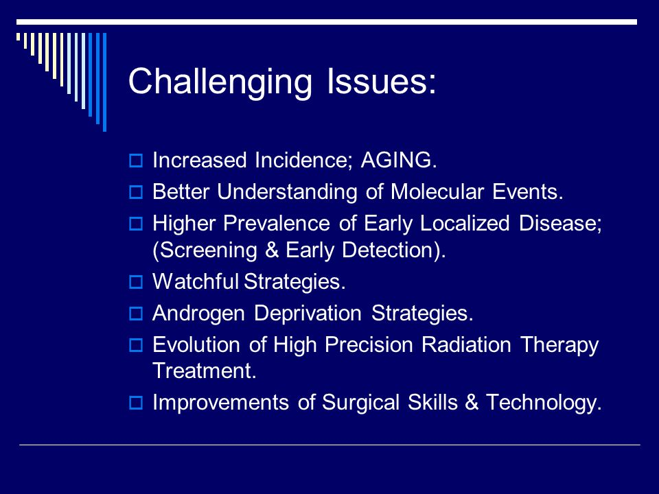 Intermittent ADT: Non Inferiority in Time of Disease Progression & Survival.