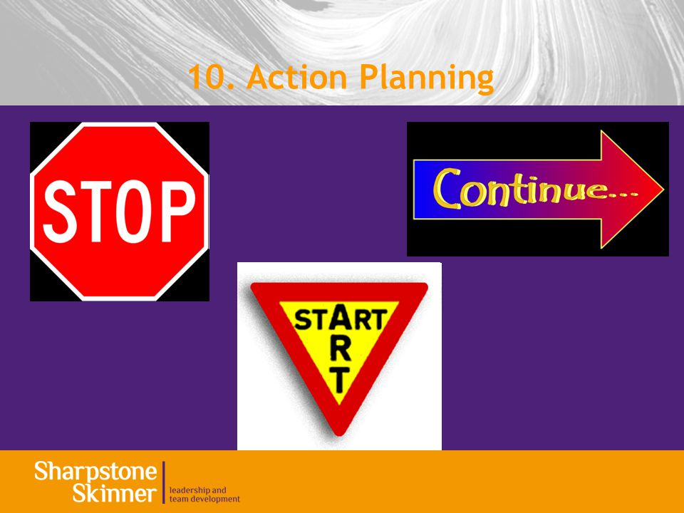 10. Action Planning