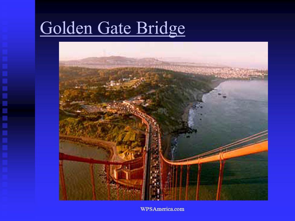 WPSAmerica.com Golden Gate Bridge