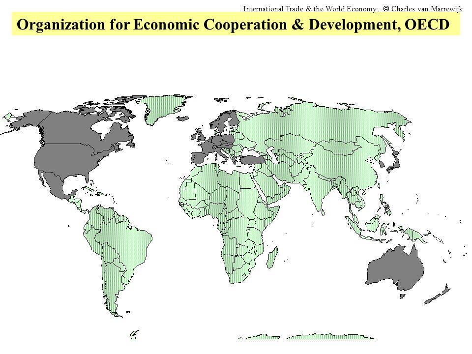 Organization for Economic Cooperation & Development, OECD International Trade & the World Economy;  Charles van Marrewijk