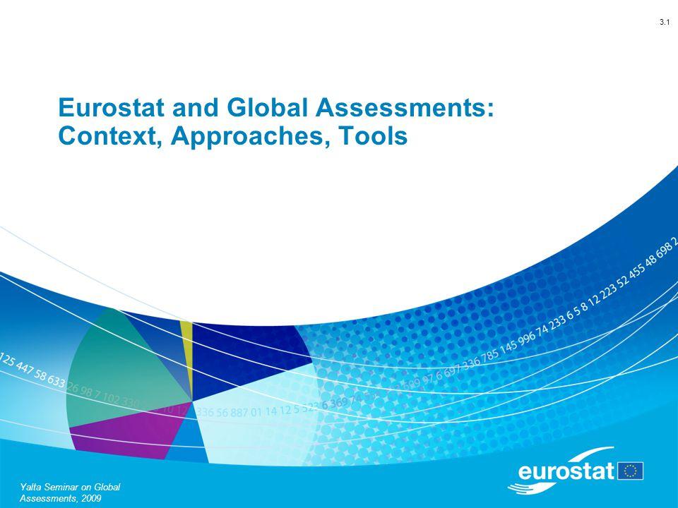 Eurostat D1Yalta Seminar on Global Assessments, 2009 Light Peer Reviews vs.