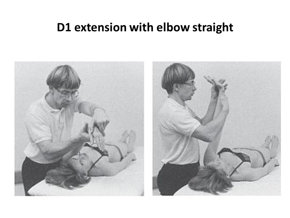 D1 ex, with elbow extension
