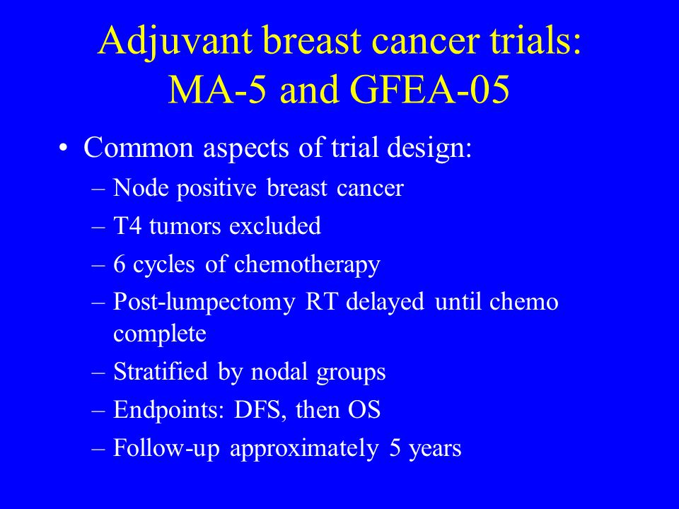 Advanced breast cancer: Differences in dose and schedule Within each study: –HEPI/013: Doses of CTX and 5-FU were higher on CMF than on FEC –HEPI/010: For FEC 50 v.