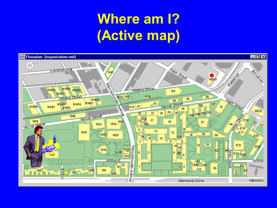 Where am I (Active map)