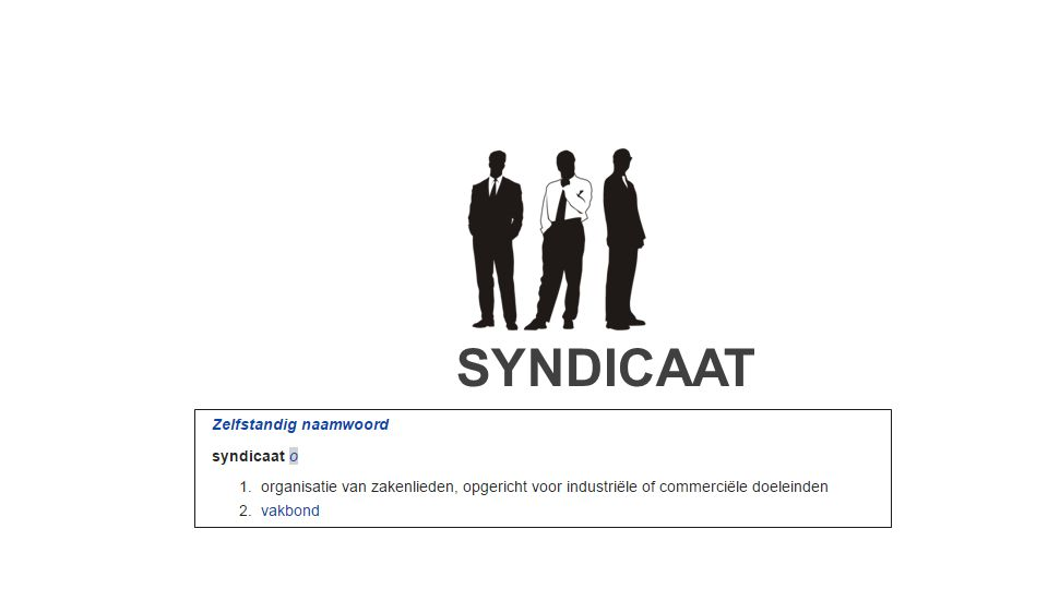 SYNDICAAT