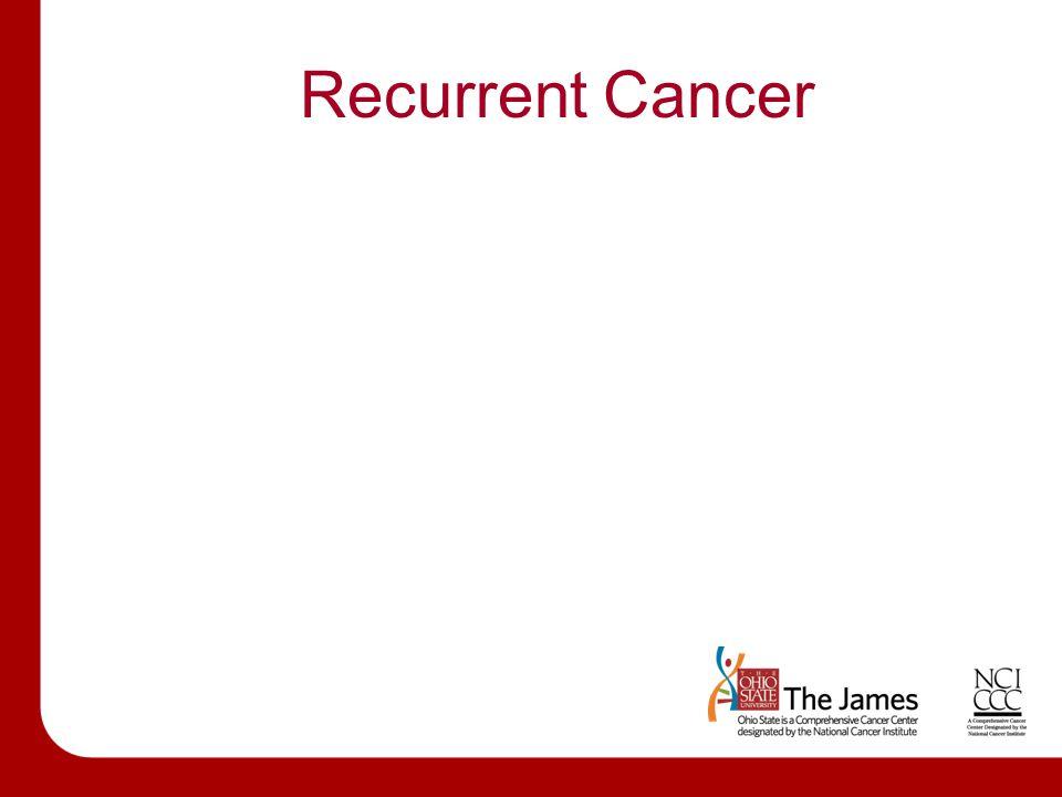 Recurrent Cancer